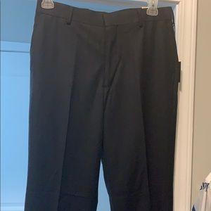Navy slacks